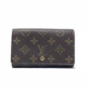 Louis Vuitton Monogram Billets Tresor Wallet